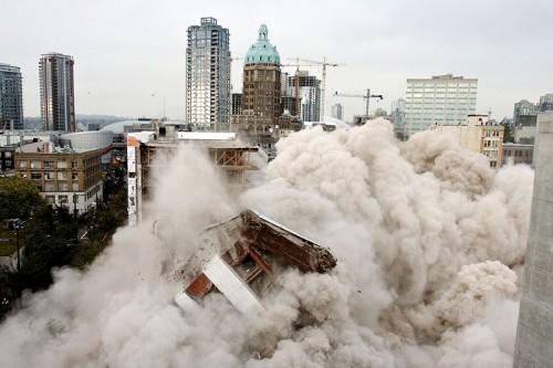 Demolare, Vancouver, foto via Wikipedia Commons - Demolare, Vancouver, foto via Wikipedia Commons