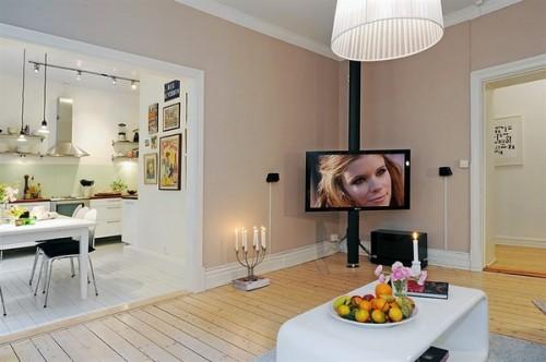 Un spatiu semideschis, intre living si bucatarie - Un apartament ideal, pentru o familie perfecta: confortabil, practic si accesibil