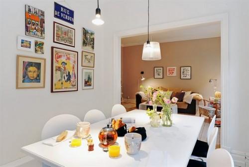 Zona de luat masa beneficiaza de lumina din plin, naturala si artificiala in egala masura - Un apartament ideal, pentru o familie perfecta: confortabil, practic si accesibil