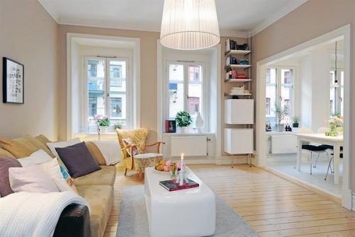 O masuta de cafea originala - Un apartament ideal, pentru o familie perfecta: confortabil, practic si accesibil