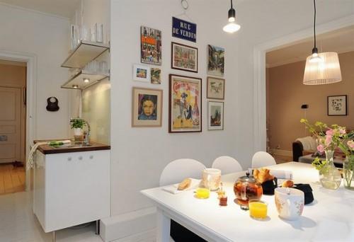Si un colt intim, decorat atragator - Un apartament ideal, pentru o familie perfecta: confortabil, practic si accesibil