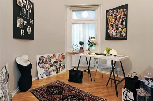 Camera destinata muncii la domiciliu: croitorie si moda - Un apartament ideal, pentru o familie perfecta: confortabil, practic si accesibil