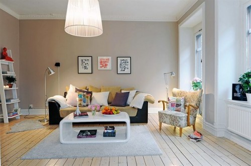Un living mic, dar familiar si placut - Un apartament ideal, pentru o familie perfecta: confortabil, practic si accesibil