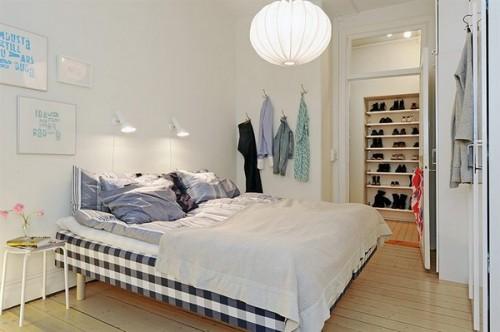 Alb si albastru linistitor - Un apartament ideal, pentru o familie perfecta: confortabil, practic si accesibil