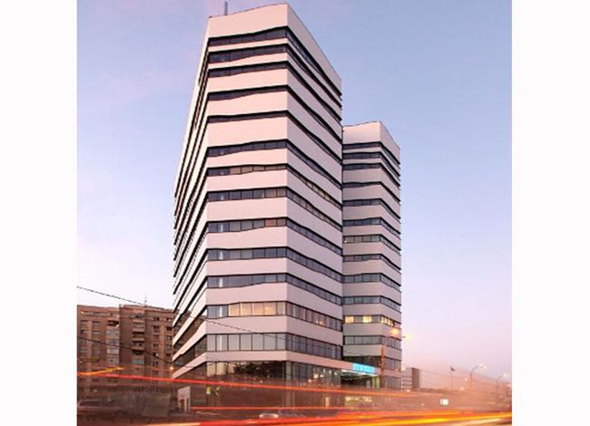 Olympia Tower, imobil birouri, bd Decebal, nr 25-29 - Proiecte de referinta - fatade realizate cu solutii Sika in Romania