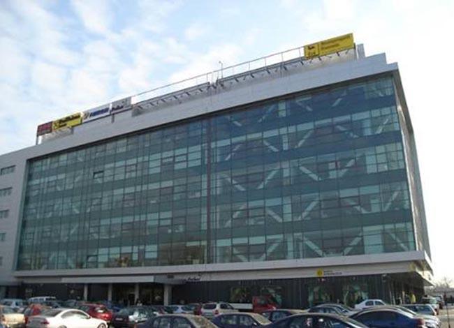 Cladire de birouri Novopark - Proiecte de referinta - fatade realizate cu solutii Sika in Romania