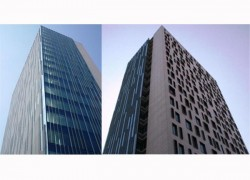 Cladiri de birouri Cathedral Plaza - Proiecte de referinta - fatade realizate cu solutii Sika in Romania