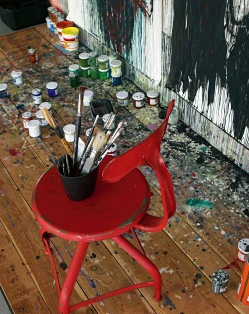 13 - Un apartament personalizat: artistic, independent si tineresc