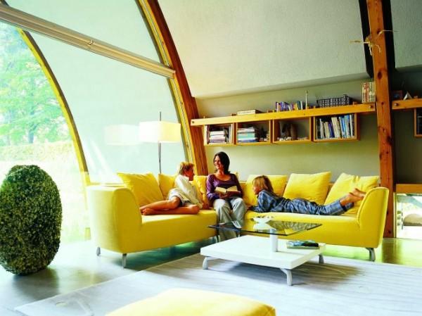 Luminos, vesel si dinamic, galbenul poate fi folosit oriunde: din living pana in dormitor si chiar in baie - Luminos, vesel si dinamic, galbenul poate fi folosit oriunde: din living pana in dormitor si chiar in baie
