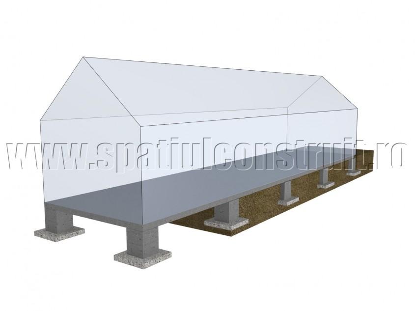 Fundatie prefabricata - Forma fundatiilor
