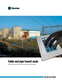 Aplicatii centrale nucleare - Exemple de utilizare Roxtec