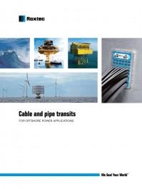 Aplicatii offshore (pe mare) - Exemple de utilizare Roxtec