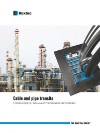 Aplicatii pe uscat pentru domeniile petrol, gaze naturale si petrochimie - Exemple de utilizare Roxtec