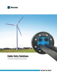 Aplicatii in energia eoliana - Exemple de utilizare Roxtec