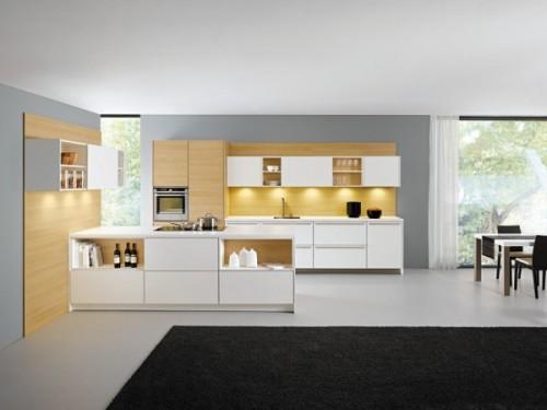 Stil: lumina discreta si spatii functionale in bucatarii deschise - Stil: lumina discreta si spatii functionale in bucatarii deschise