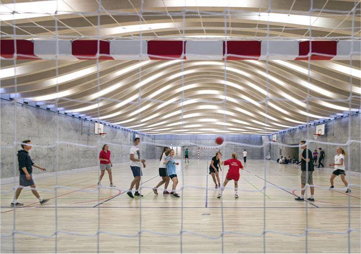 Sala de sport proiectata de echipa BIG - Sala de sport proiectata de echipa BIG