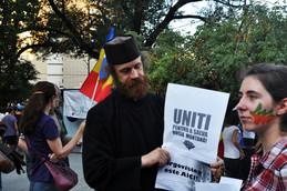 Protest pentru Rosia Montana, foto Marius Ghinete - NU mineritului cu cianuri