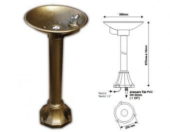 Fantana pentru baut apa tip piedestal (tasnitoare) - AT1 - Fantani pentru baut apa