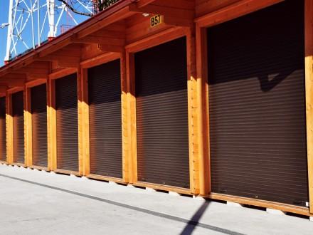 Usa de garaj tip rulou cu lamele de 55 mm - Usa de garaj tip rulou cu lamele de 55