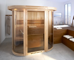 Sauna de lux - MIDI VISION - Saune de lux - mixte - TYLO