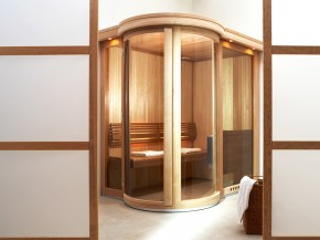 Sauna de lux - ROUND VISION - Saune de lux - mixte - TYLO