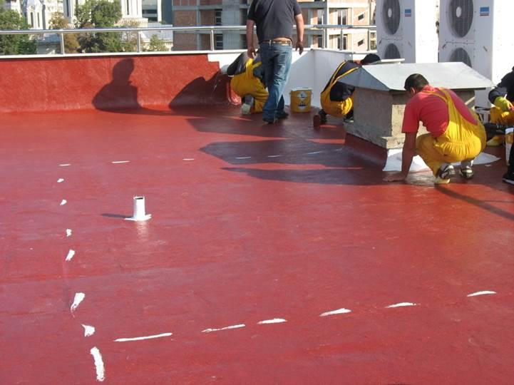 Etapa verificare consum materiale - Proiect hidroizolare acoperis SikaRoof MTC 12 - Administratia Financiara Ploiesti