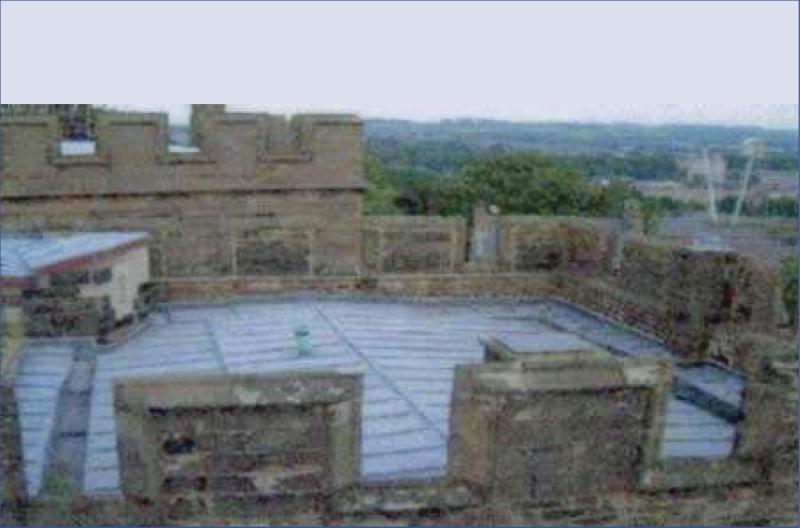 Castelul Lancaster - Proiecte internationale hidroizolare acoperis