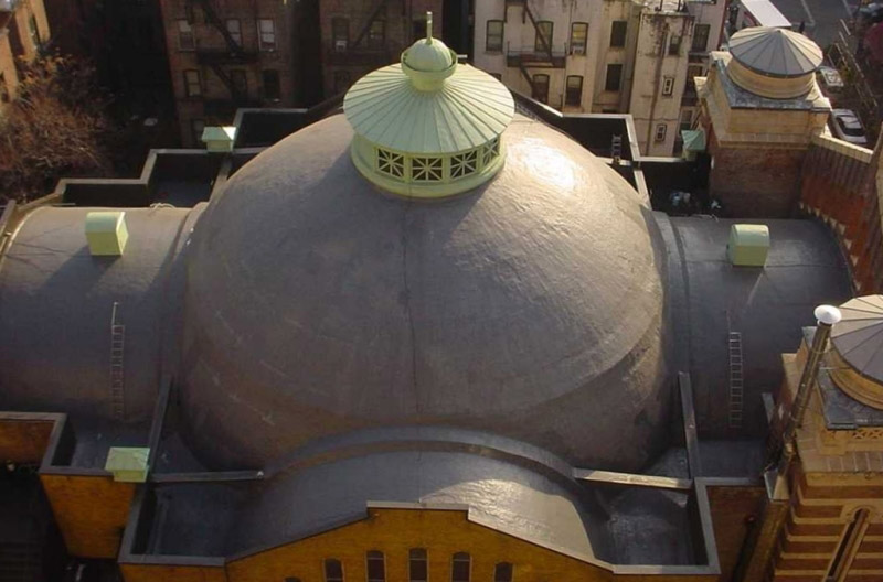 Biserica Holy Trinity - Proiecte internationale hidroizolare acoperis