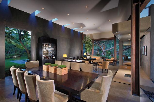 se poate folosi culoarea gri in living. Black Bedroom Furniture Sets. Home Design Ideas
