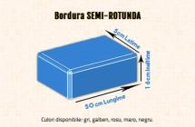 Bordura semi-rotunda - Borduri din beton - Constructii Millenium