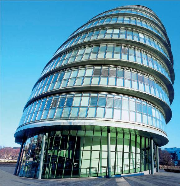 Cladirea Primariei GLA, Londra, UK, Foster & Partners  - Sika - Privind dincolo de sticla 4
