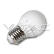 Bec LED - 3W Е27 P45 Epistar Chip Alb Cald - Becuri cu led