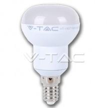 Bec LED - 6W E14 R50 Epistar Chip 4500K - Becuri cu led