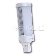Bec LED - 8W PL G24 6000K - Becuri cu led