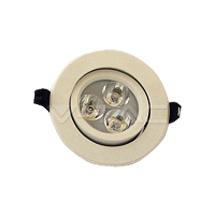 Spot cu LED V - TAC cerc reglabil - Spoturi cu led