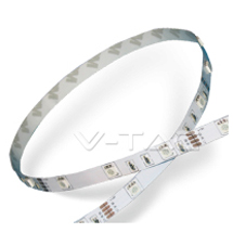 Banda cu led SMD5050 - RGB Alb PCB - Benzi cu led