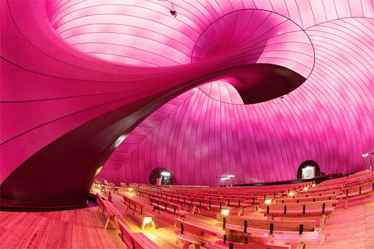 Prima sala de concerte gonflabila - Prima sala de concerte gonflabila
