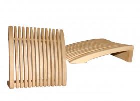 Suport fix pentru cap si spate - Accesorii pentru saune - TYLO