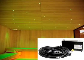 Proiector de lumina alba sau colorata pentru saune 0 - Terapie prin culori, arome sau muzica - TYLO