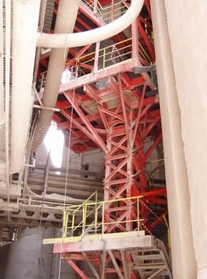 Turn elevator pentru transport faina - Lafarge Romcim - Proiectare generala