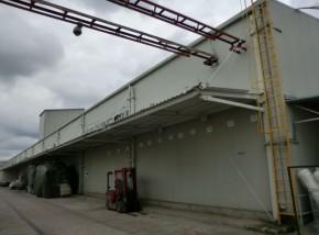 Copertina hala vopsitorie - Fabrica Rouleau Guichard - Sacele, Brasov - Proiectare generala