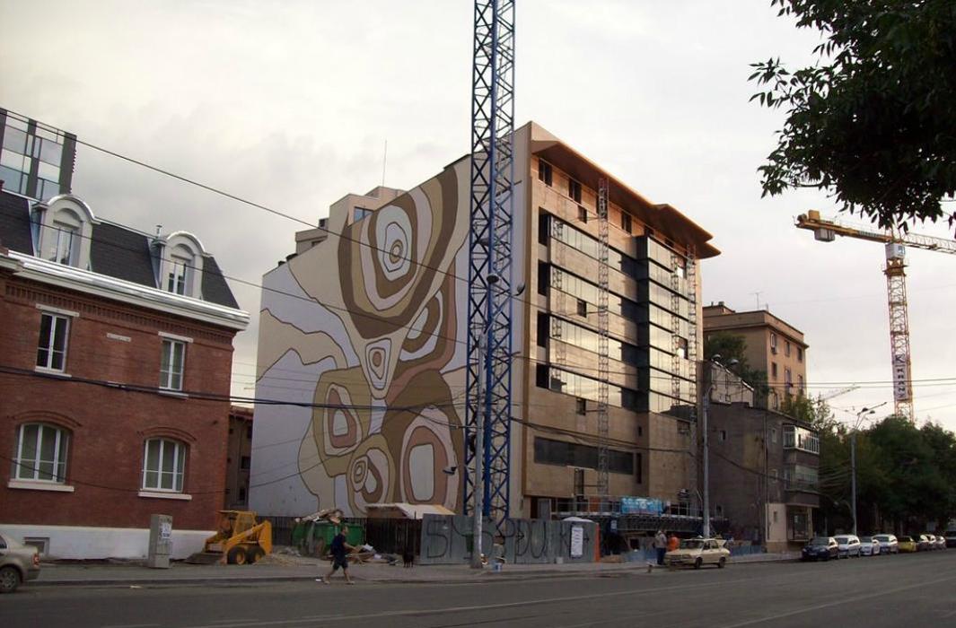HOTEL CORVINUS - Impermeabilizarea si si protectia betonului proaspat cu Xypex