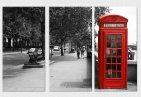 Tablouri set dual view - cabina telefonica Londra  - Tablouri set