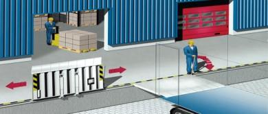 Pod mobil pentru rampe deschise Crawford Drawbridges 640 DMW/641 DMGZ - Rampe, module de incarcare, descarcare