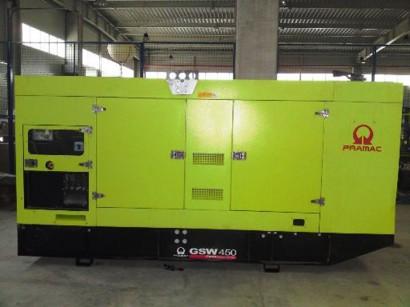 Generator electric trifazat PRAMAC GSW450V - Generatoare electrice