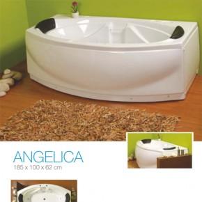 Cada baie Angelica - Cazi drepte