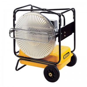 Incalzitor cu infrarosu pe ulei sau diesel (motorina) tip MINI VAL  - Generatoare de aer cald