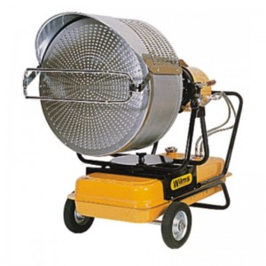 Incalzitor cu infrarosu pe ulei sau diesel (motorina) tip VAL 6 - Generatoare de aer cald