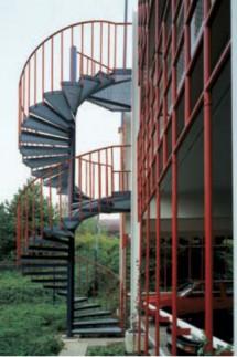 Scara sub forma de spirala de tip LG Special - Scara sub forma de spirala de tip LG Special