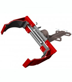 Clamp pentru butoaie, rotativ T445F - Clampuri, sisteme de stangere